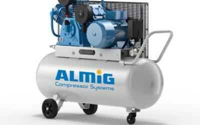 Нова серия бутални компресори от ALMiG