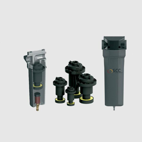 CS. Циклон Сепаратори от SCC предлагани от БС Компресори